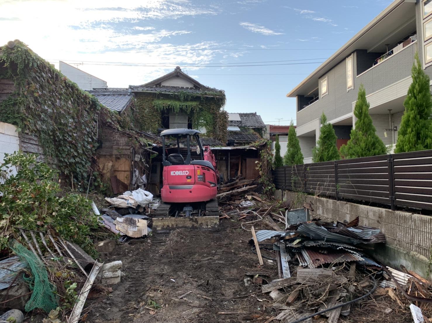 【施工実績をご紹介】岡山市内解体工事